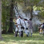 Soldiers Atop Mount Independence Event