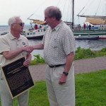 Boating Museum Donates Important Canal Marker