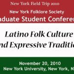 CFP: Latino Folk Culture, Expressive Traditions