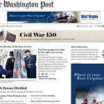 Washington Post Launches Civil War 150 Site