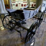 Suffrage Campaign Wagon on Display at Capitol