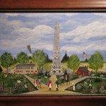 Local Artist Donates Painting to Saratoga NHP
