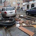 Sandy Damage Along Historic Waterfront, Islands