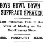 Louise Bernikow: Of Super Bowls And Suffragettes