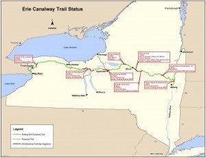 Erie Canal Trail Status 2012
