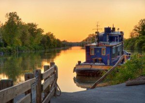 W1_Pittsford_Lock33Sunset_GaryEisenhart